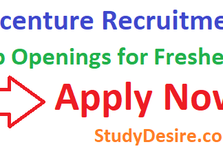 Accenture Recruitment 2019