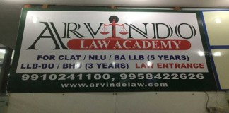 Get all details of Arvindo Law Academy Pitampura like Arvindo Law Coaching Pitampura Fee Stucture Admission Course Ranking Review etc.
