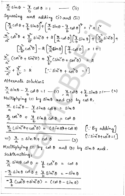 Solved CBSE Sample Papers for Class 10 Maths Paper 1