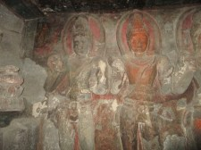 Colorful Buddhist Caves