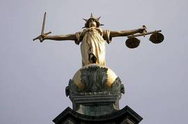 lady justice - criminal law