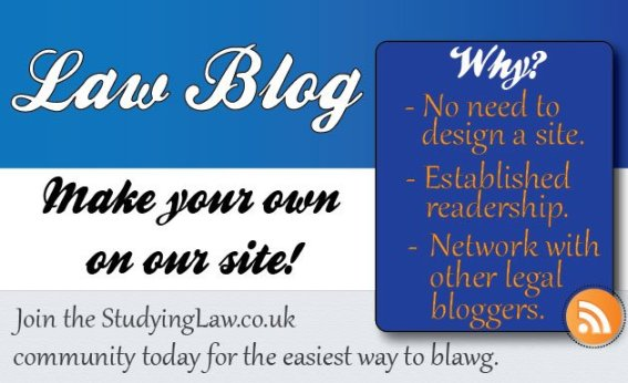 Start your own law blog