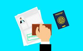 visa stamped approved