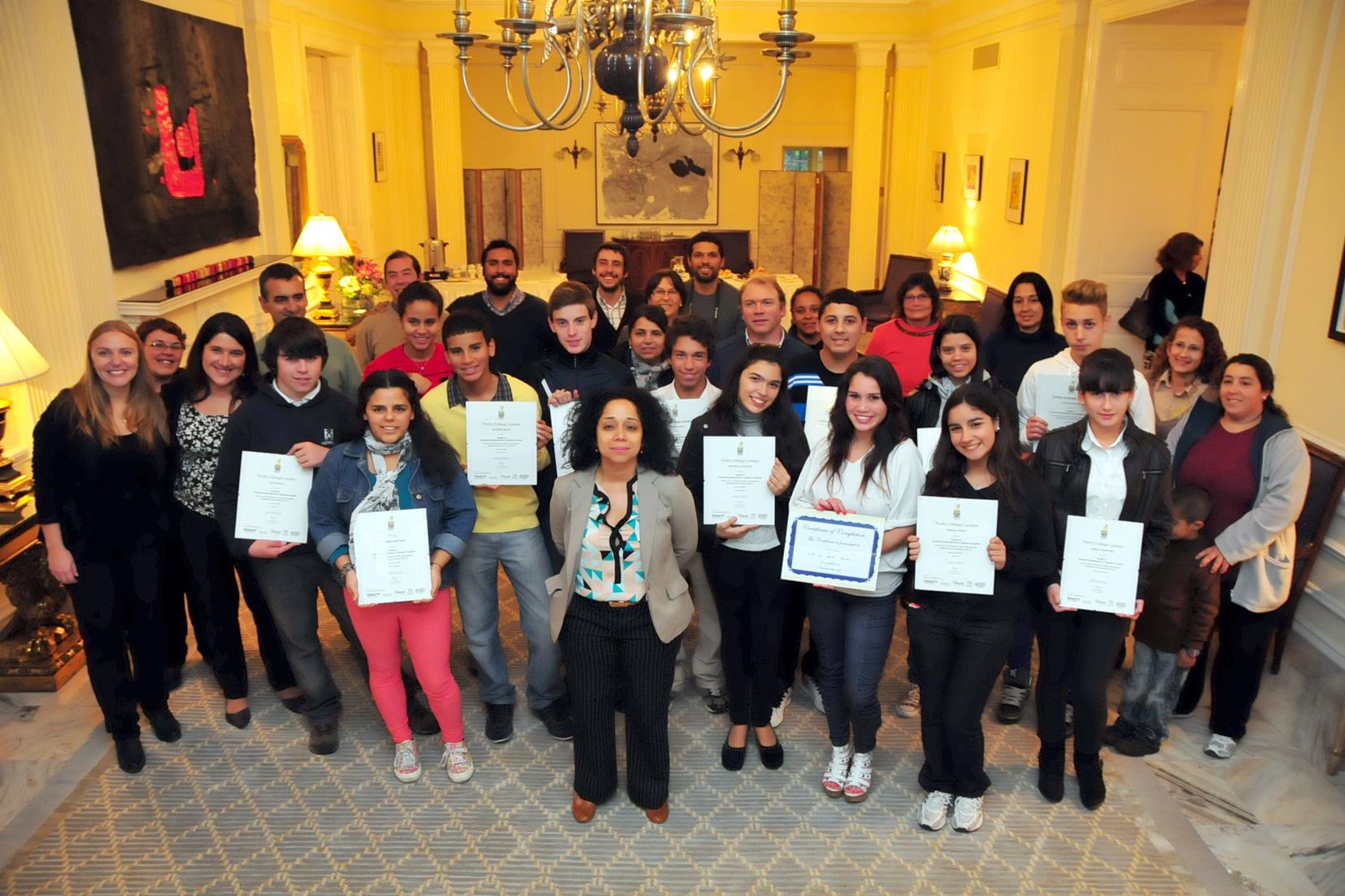 Course applications— Language schools