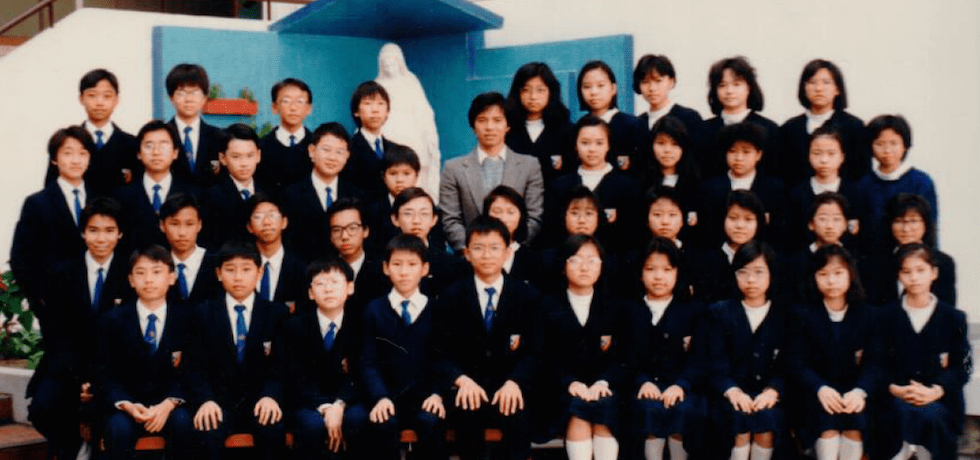 Study Links Eric with his students in Hong Kong