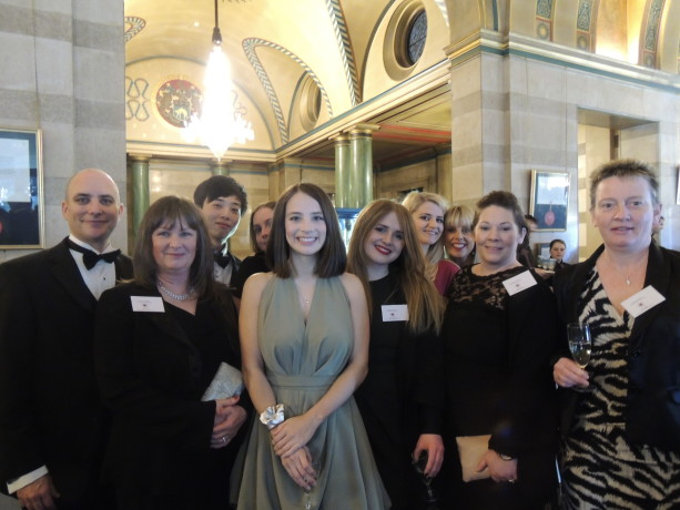 The Study Links team at the Yorkshire & Humber China Business Awards