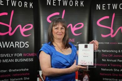 Angela Fan Network She Foundation International Women's Day Awards