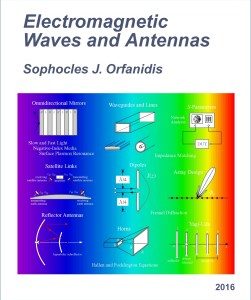 Electromagnetic Waves and Antennas By Sophocles J. Orfanidis
