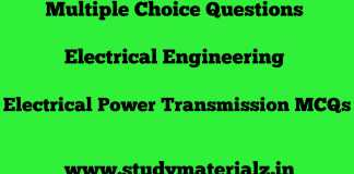 Electrical Power Transmission MCQs