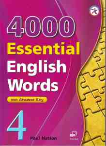 4000 Essential English Words, Book 4 with Answer Key
