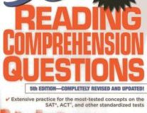 501 Reading Comprehension Questions By LearningExpress LLC Editors