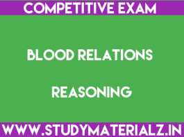 Blood Relations - Reasoning Questions and Answers