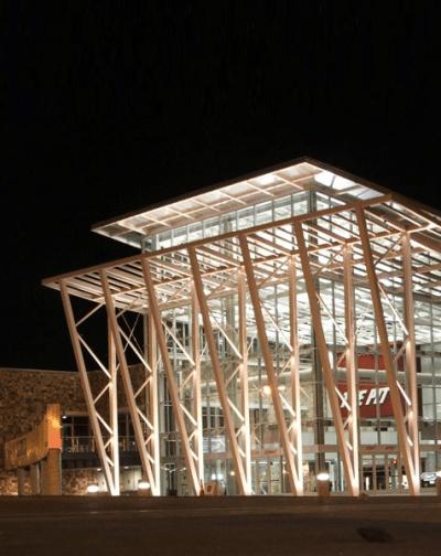 The Pit Stadium, UNM Campus