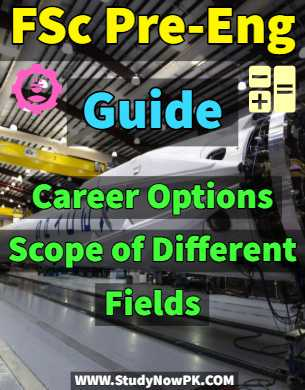 FSc Pre-Eng Guide Career Options & Scope of Different Fields fi