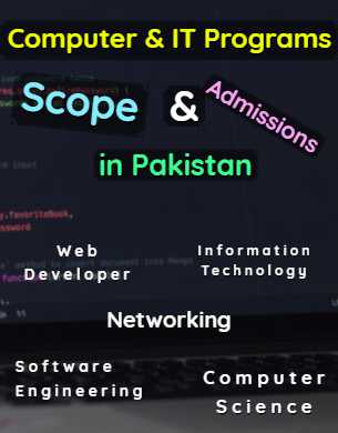 All Computer & IT Programs Scope Admissions & Universities in Pakistan fi