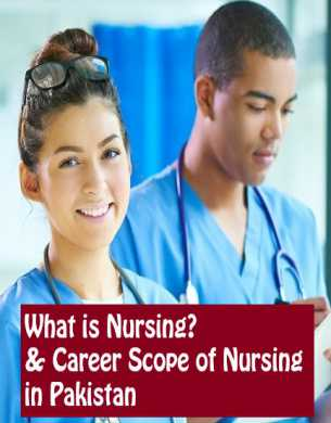 What is Nursing & Career Scope of Nursing in Pakistan fi