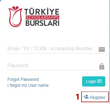 How to Apply for Turkey Scholarships 2020 Step 1
