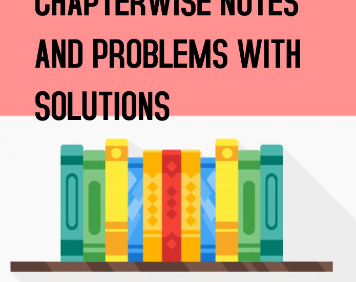 Allen Maths Chapterwise Notes and Problems