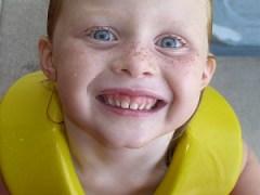 Cute kid smile