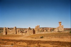 Kanyaka Homestead lies in ruins. Copyright Cornelia Kaufmann
