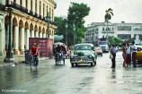Street scene with oldtimer in front of El Capitolio, Havana, Cuba. Copyright Cornelia Kaufmann