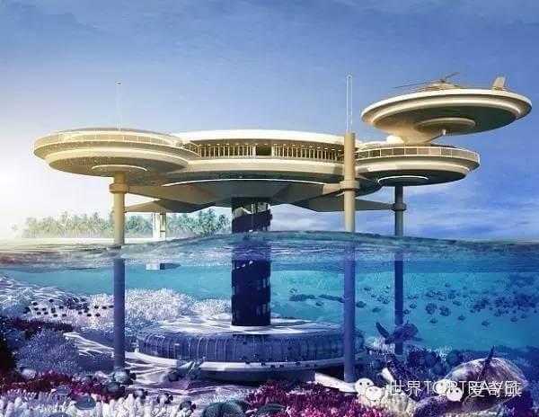 杜拜 Dubai 新月塔水下酒店等特色建築 - GLC鉅霖遊學