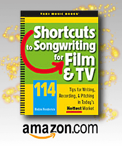 Shortcuts to Songwriting for Film & TV at Amazon