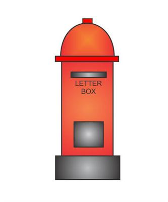 How To Draw Box Letters : letters, Letter, Steps