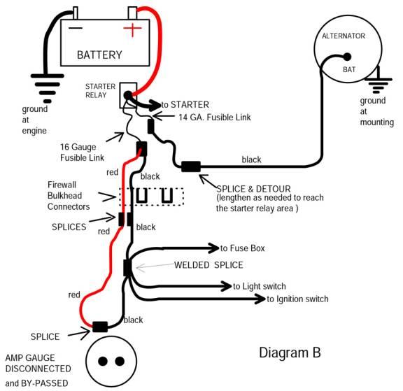dodge amp gauge wiring