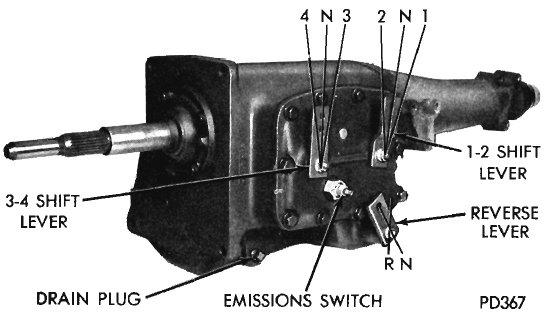 833 Transmission Diagram
