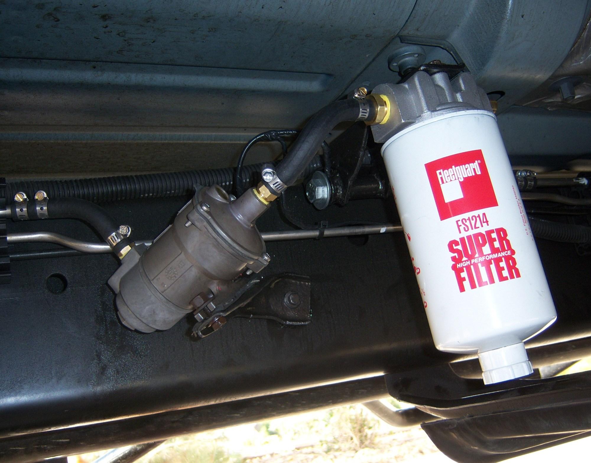 hight resolution of glacier fuel filter
