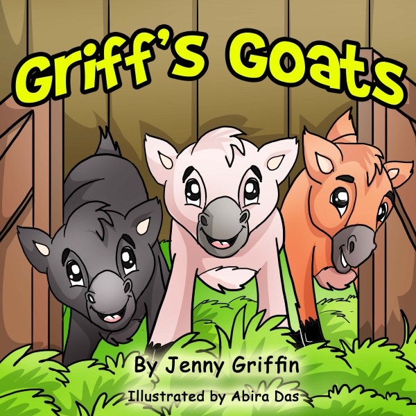 Griff's Goats - a delightful rhyming farm animal picture book for kids