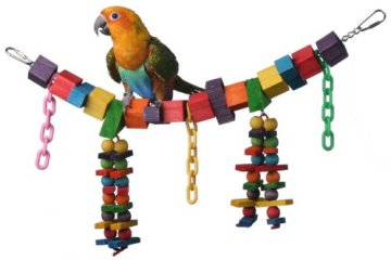 Safe Bird Toys: how to make safe homemade bird toys