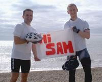 Hi Sam from Dunwich beach, Suffolk