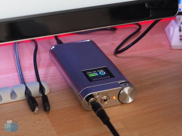 Shure SHA900 am Desktoprechner