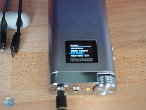 Shure SHA900 Flip Screen