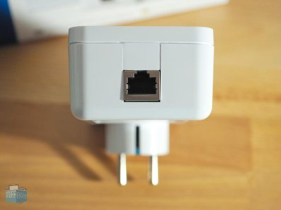 Gigabit-Port zum Anschluss an Router & Endgerät
