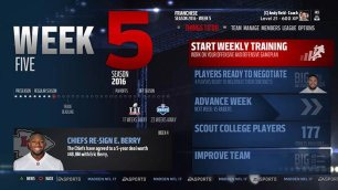 EA Sports Madden NFL 17 Franchise