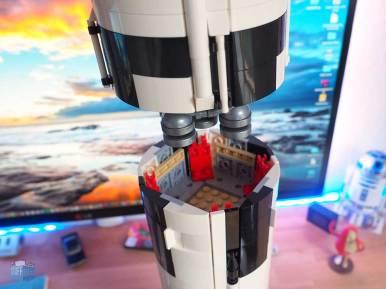 LEGO Saturn V Raketenstufen
