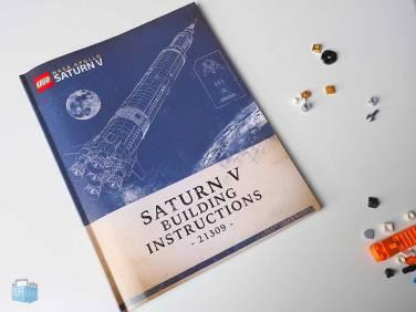 LEGO Saturn V Handbuch