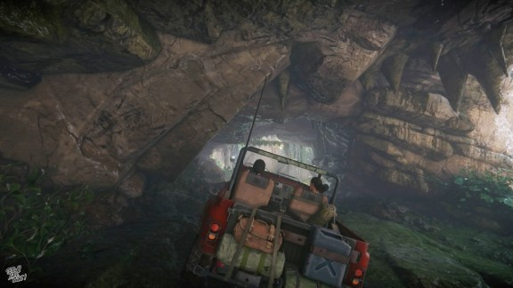 Uncharted - The Lost Legacy - Gameplay mit Jeep