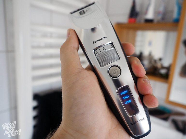 Panasonic ER-SC60 liegt gut in der Hand