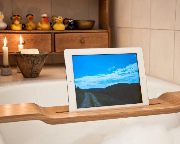iPad hält... sicher!