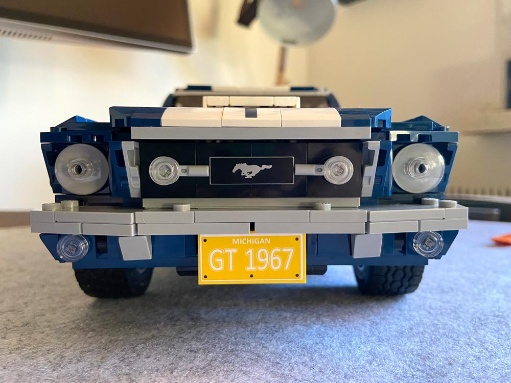 LEGO Ford Mustang Front
