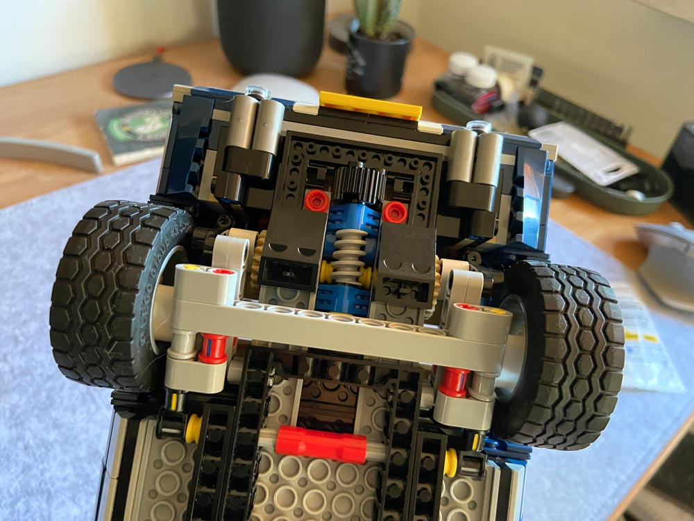 LEGO Mustang Achse