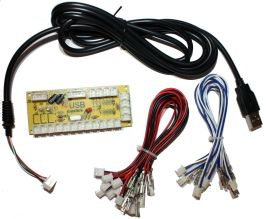 Encoder kit with board, USB cable and harness