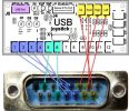 Pins mapping between controller and board