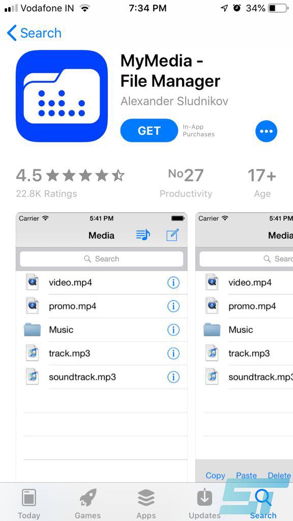 MyMedia App Store
