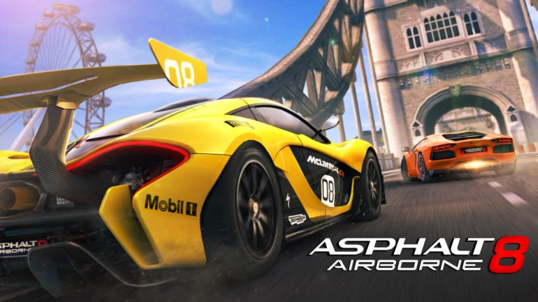 asphalt-8 Best free games for iPhone in 2019