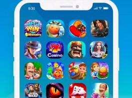 screenshot of iPhone games